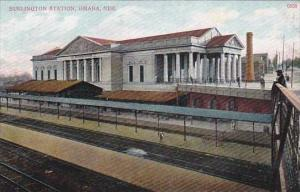 Nebraska Omaha Burlington Railroad Station