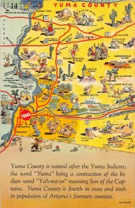 LP02   Yuma County Arizona Map