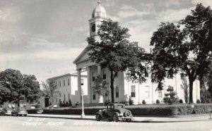 LPSS62 Lexington Missouri Lafayette County Court House Postcard RPPC