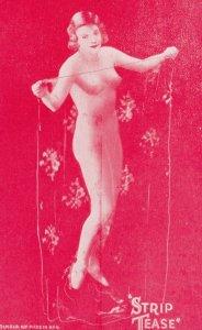 Stripper Pin-Up Girl  , 1940-50s : #4