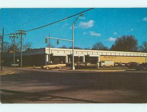 Unused Pre-1980 OLD CARS & POST OFFICE Anderson South Carolina SC v5508