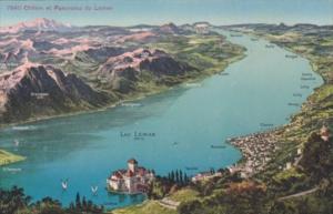 Switzerland Chillon et Panorama du Leman