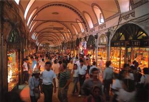 Turkey Istanbul, Kapali carsi umumi gorunus Grand Bazaar