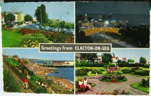 England Greetings from Clacton-on-Sea - posted 1967