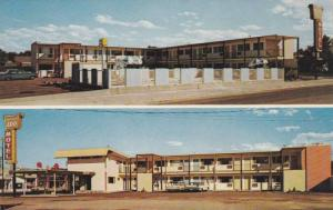 Two Views, Of The Imperial '400' Motel, Including Swimming Pool, Twin Falls, ...