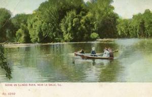 IL - La Salle. Illinois River