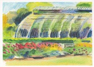 Melissa Scott Miller Palm House At Kew Garden London Painting Postcard