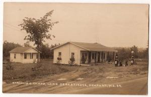 RPPC, Gas Station & Camps, Lake Sebasticook, Newport ME