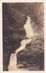 RP; Upper Falls , Buck Hill Falls, Pennsylvania , PU-1919