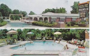 Swimming Pool,  Magnolia Motor Hotel,  Vicksburg,  Mississippi,  40-60s