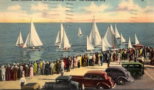Florida St Petersburg Small Sailboat Races 1941