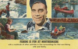NORTHERNAIRE , Wisconsin, 1930-40s; Fishing is Fun