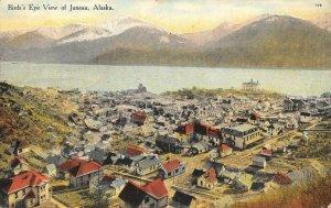 Bird's Eye View of Juneau, Alaska 1920 Vintage Postcard