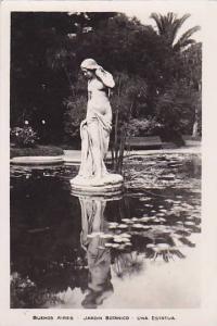 RP; BUENOS AIRES, Jardin Botanico, Una Estatua, Argentina, 10-20s