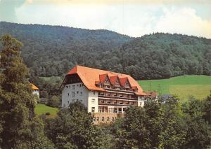 Glottertal Schwarzwald Sanatorium Kurhaus Glotterbad Schwarzwaldklinik