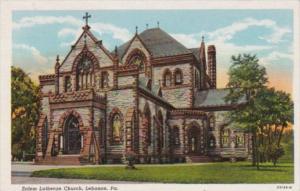 Church Salem Lutheran Church Lebanon Pennsylvania Curteich