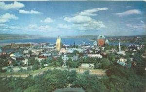 Canada, General view of Quebec, 1960 unused Postcard