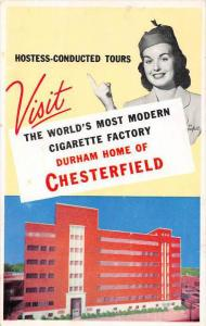8133 NC Durham     Chesterfield  Cigarette Factory