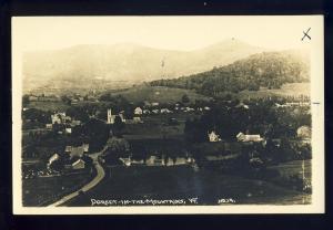 Dorset, Vermont/VT Photo Postcard, View Of Community