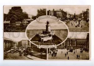 213892 IRELAND Greetings from DUBLIN LIGHTHOUSE photo postcard