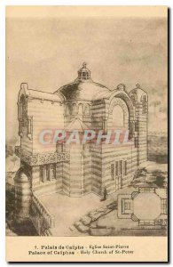 Old Postcard Palace of Caiphas Eglise Saint Pierre