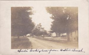 RP; SPARTA , Ontario , PU-1907; Dirt road, looking East from Baptist Church