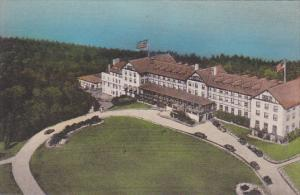 New York Lake Champlain Hotel Cahamplain at Bluff Point Albertype