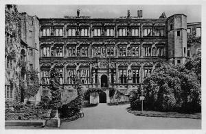 Schloss Heidelberg Der Otto Heinrichs Bau Castle Chateau