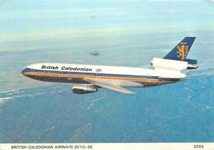 British Caledonian Airways plane