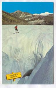 Moulin on Athabasca Glacier, Canada, 40-60s