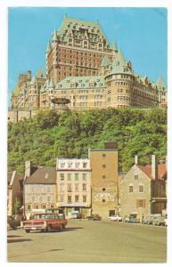 Le Chateau Frontenac  Quebec Canada