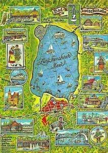 Zwischenahner Meer Stadtplan Map, Bad Zwischenahn Motorboot Rheuma Klinik