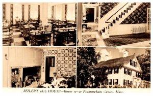 Massachusetts  Framingham , Seilers 1812 House Restaurant ,  Multi-View