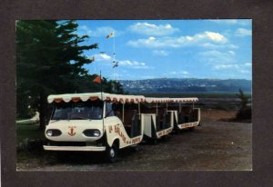 QC PQ Parc L'Ancrage Riviere Du-Loop Quebec Canada Postcard Carte Postale Balade