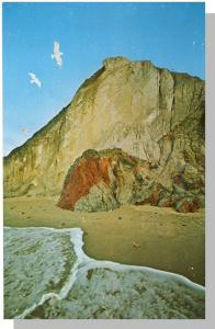 Martha's Vineyard, Mass/MA Postcard,Gay Head Cliffs,Cape Cod