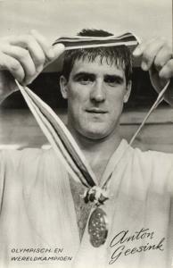 Olympic & World Champion Dutch 10th-dan Judoka ANTON GEESINK Tokyo 1964 Judo (4)