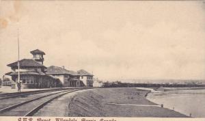 G.T. Railroad Train Station , ALLANDALE , Barre , Ontario , Canada , PU-1916