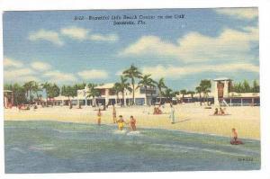 Beautiful Lido Beach Casino on the Gulf, Sarasota, Florida, PU-1953