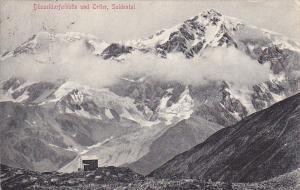 Susseldorferhutte und Ortler, SULDENTAL, South Tyrol, Trentino-Alto Adige, It...