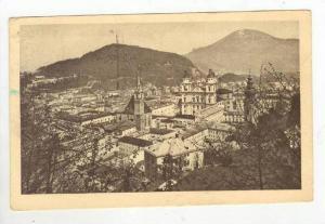 Salzburg vom Monschsberg, Austria, PU-1936