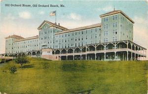 Old Orchard Beach Maine~Extended Porch~Old Orchard House on the Beach 1910