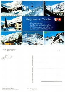 SWITZERLAND Postcard Saas-Fee (A14)