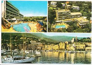 Park Hotel Suisse, S. Margherita Ligure, Italy, used Postcard
