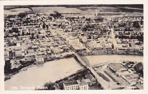 RP, Aerial View, Bridge, Fairbanks, Alaska, 1930-1950s