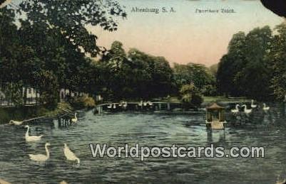 Pauritzer Teich Altenburg S A Germany 1912