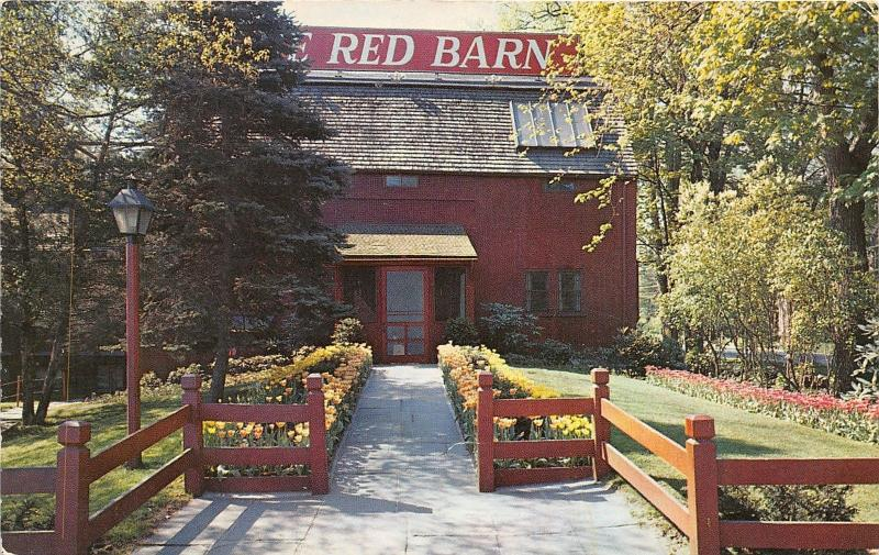 Westport Connecticut~The Red Barn Restaurant Fine Food-Delicious Cocktails~50s