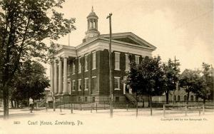 PA - Lewisburg. Court House