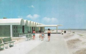 Public Bathhouse and Beach, Jekyll Island, Georgia, 1940-1960s