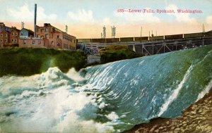 WA - Spokane. Lower Falls