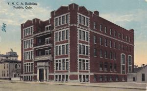 PUEBLO, Colorado, 1900-1910s; Y.M.C.A. Building